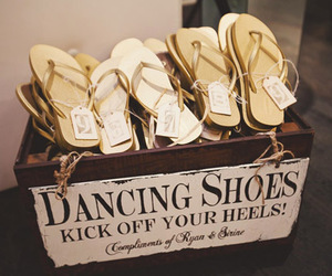 wedding, dancing, and shoes image