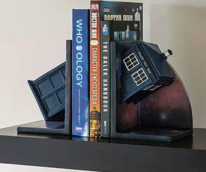 book, tardis, and doctor who image