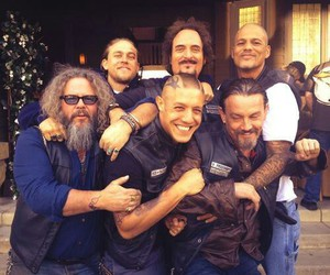 sons of anarchy, soa, and happy image