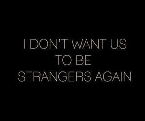 quote, love, and strangers image