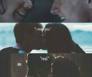 hunger games, i need you, and real image