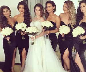goals, wedding, and sisters image