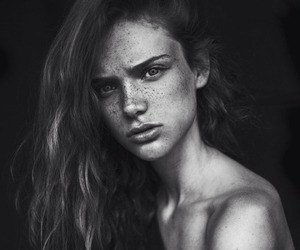 beautiful and freckles image