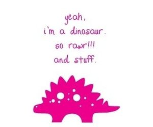 dinosaur, cute, and funny image