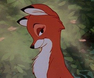 fox, disney, and the fox and the hound image