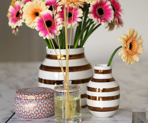 decor, flowers, and girly image