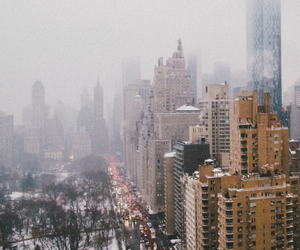 city, beautiful, and snow image