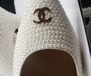 chanel, classy, and shoes image