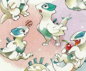 anime, pokemon, and lugia image