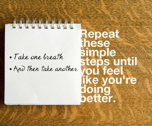 quote, life, and breathe image