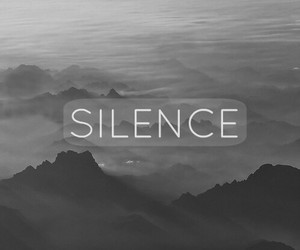 silence, black and white, and black image