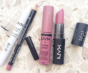 NYX, makeup, and lipstick image