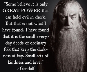 gandalf, love, and quotes image