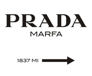 Prada, gossip girl, and marfa image