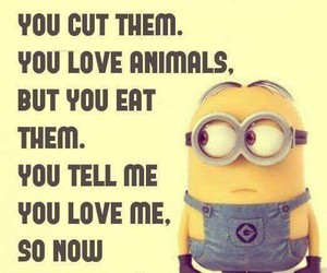 minions, funny, and love image