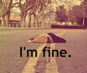 fine, sad, and i'm fine image