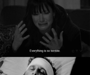 merder, meredith grey, and sad image