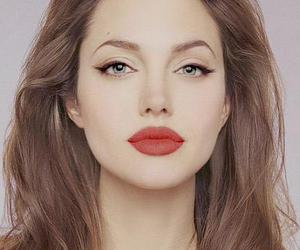 Angelina Jolie, lips, and beauty image