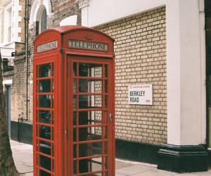 london, telephone, and travel image