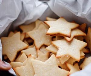food, stars, and Cookies image