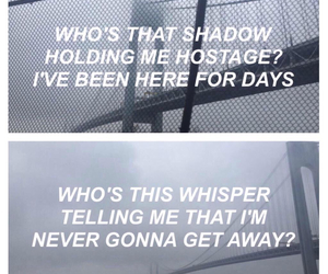 grunge, song, and text image