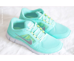 shoes, nike, and fitness image