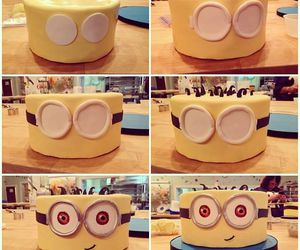 cake, diy, and minion image