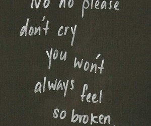 broken and cry image