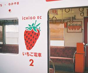 strawberry, japan, and cute image