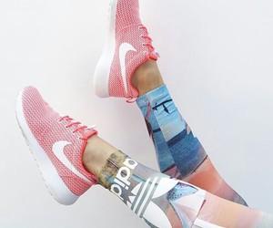 nike, adidas, and fitness image