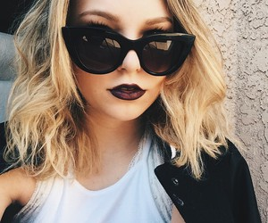 girl, sunglasses, and style image