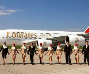 Dream, emirates, and pilotos image