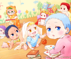 Akashi, baby, and kawaii image