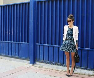 dress, high heels, and summer dress image