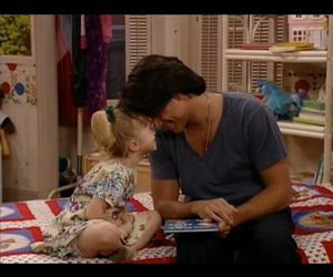 full house, uncle jesse, and michelle tanner image