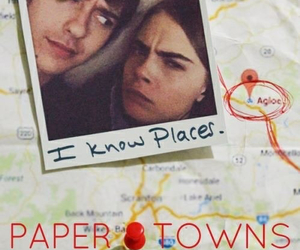 john green, paper towns, and love image