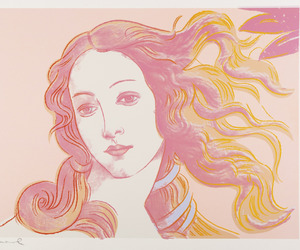 art, Venus, and andy warhol image