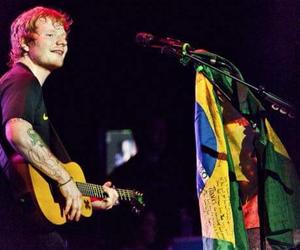 ed sheeran, love, and brasil image