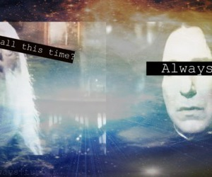 always, love, and dumbledore image