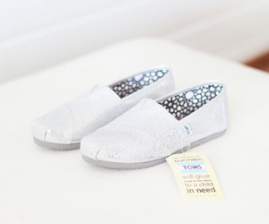 shoes, toms, and white image