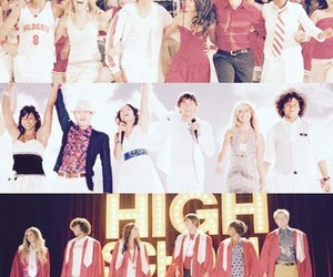 high school musical, zac efron, and HSM image