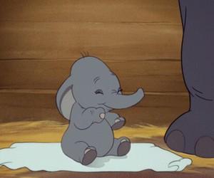 disney, baby, and dumbo image