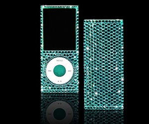 apple, bling, and blue image