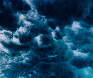 blue and clouds image