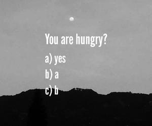 hungry image