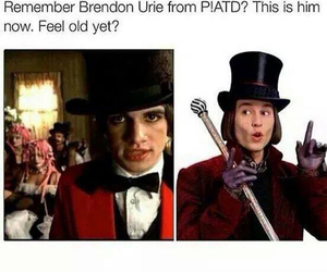 brendon urie, funny, and johnny depp image