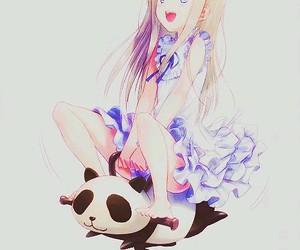 anime, kawaii, and menma image
