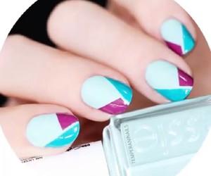 fingers, nails, and polish image
