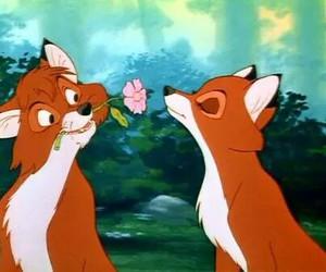 fox, disney, and love image