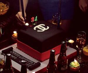 cake, chanel, and birthday image